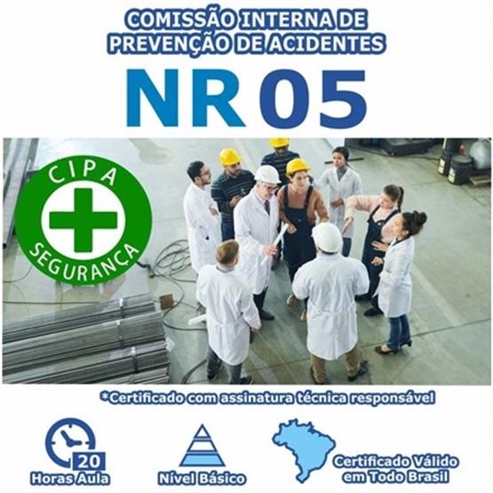 Curso NR 5 - Comissão Interna De Prevenção De Acidentes Básico