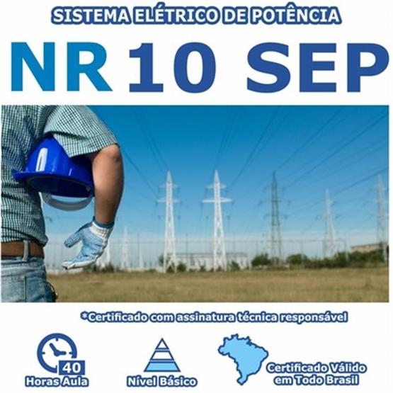Curso NR 10 SEP –  Sistema Elétrico de Potência Básico