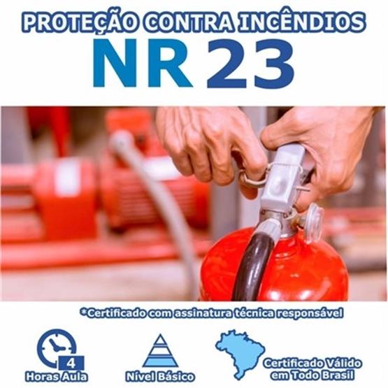 Curso NR 23 - Proteção Contra Incêndios Básico