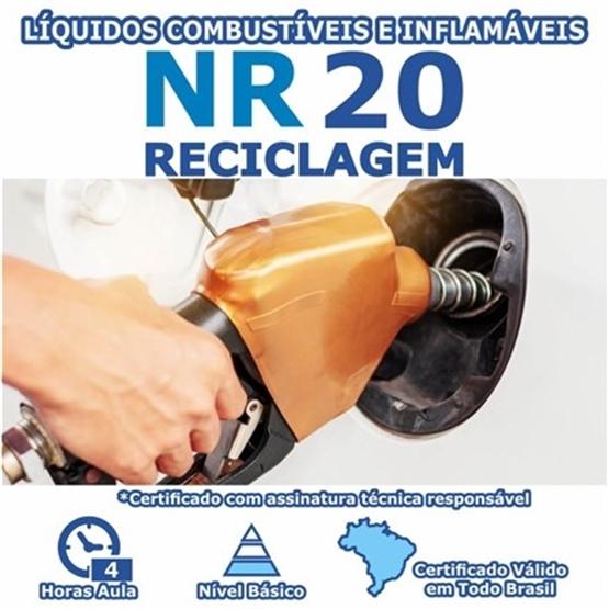 Curso Reciclagem NR 20 - Líquidos Combustíveis e Inflamáveis Básico
