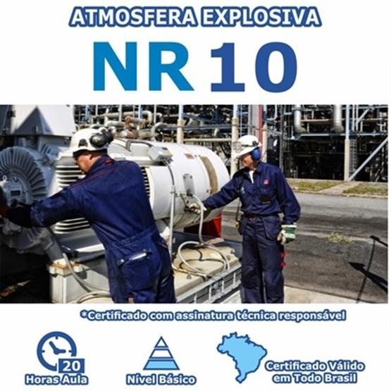 Curso NR 10 – Instalações Elétricas em Atmosferas Explosivas Básico