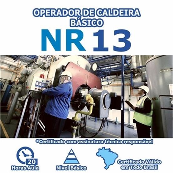 Curso NR 13 - Operador de Caldeira Básico