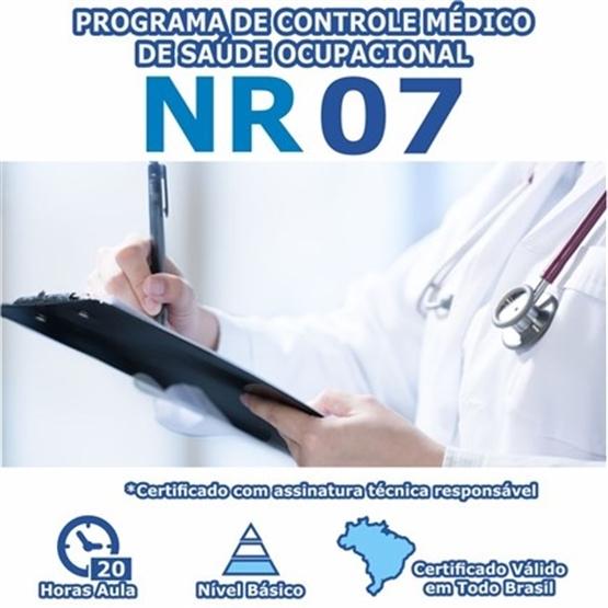 Curso NR 7 - Programa de Controle Médico de Saúde Ocupacional Básico