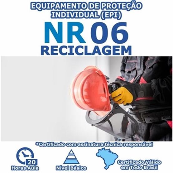 Curso NR 6 Reciclagem - Equipamento de Proteção Individual (EPI)