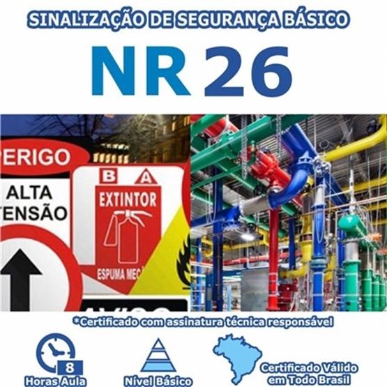 Curso NR 26 – Sinalização de Segurança Básico