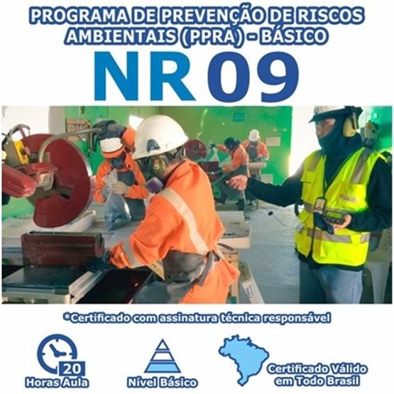 Curso NR 9 - Programa de Prevenção de Riscos Ambientais (PPRA) - Básico