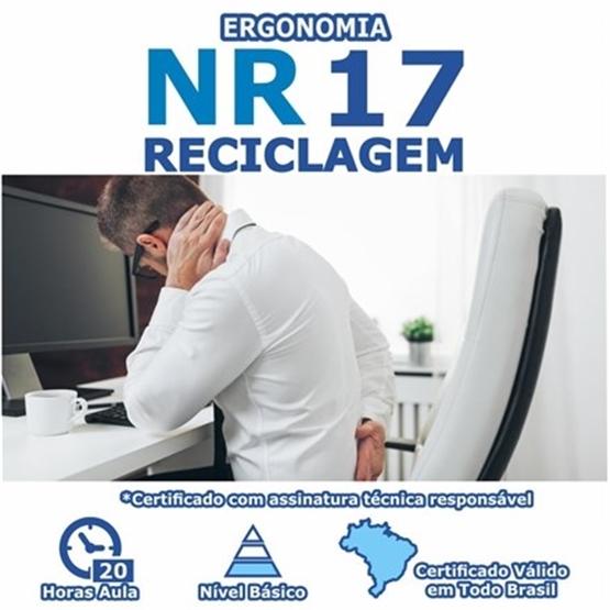 Curso NR 17 Reciclagem - Ergonomia Básico