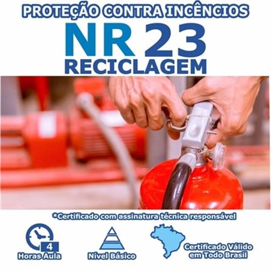 Curso NR 23 Reciclagem - Proteção Contra Incêndios Básico